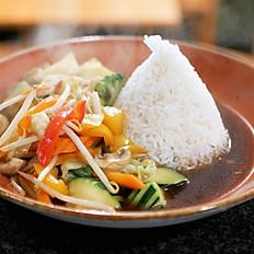 #25 thail. Gemüsepfanne