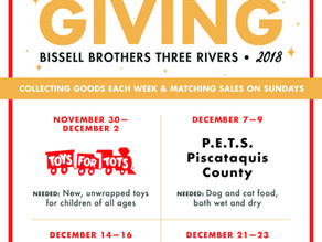 Thank You Bissell Brothers and their Customers