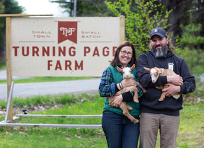 Guest Blogger Wednesday: Turning Page Farm