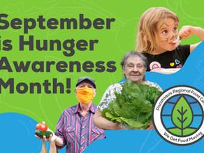 September is Hunger Awareness Month!