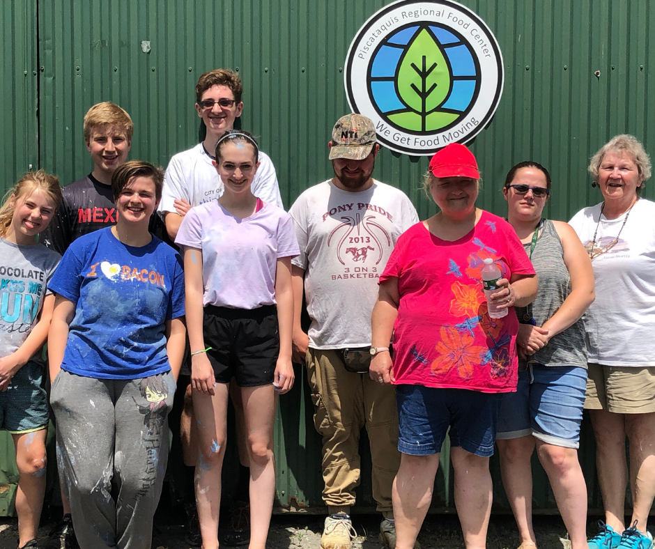 Our July crew: Lilly, Jasper, Aine, Aidan, Tae, Sean, Kelly, Kerstie, and June.  Not pictured: Joel and Evelyn