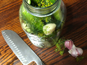 Garden in a Box Recipes: Kim's Refrigerator Pickles