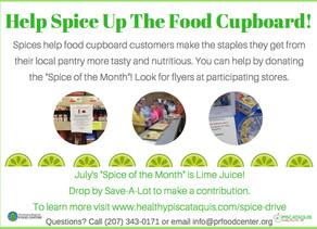 July's Spice of The Month Is...