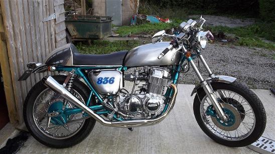 Honda CB750K2 with 1976K6 Engine