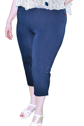 Panta corsaire bleu marine