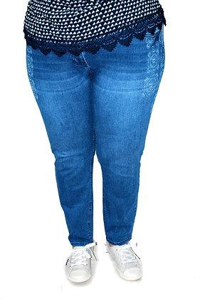 Pantalon Jean's motifs