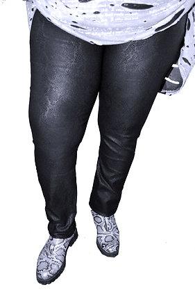Pantalon écaille noire