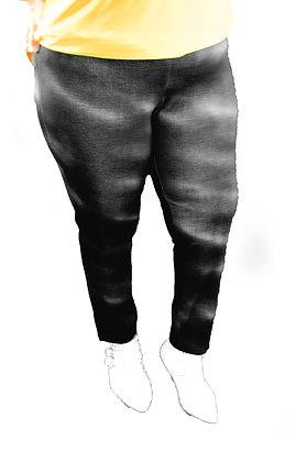 Pantalon Gris/noir