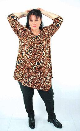 Tunique léopard