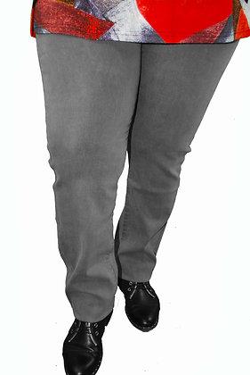 Pantalon Jean gris.
