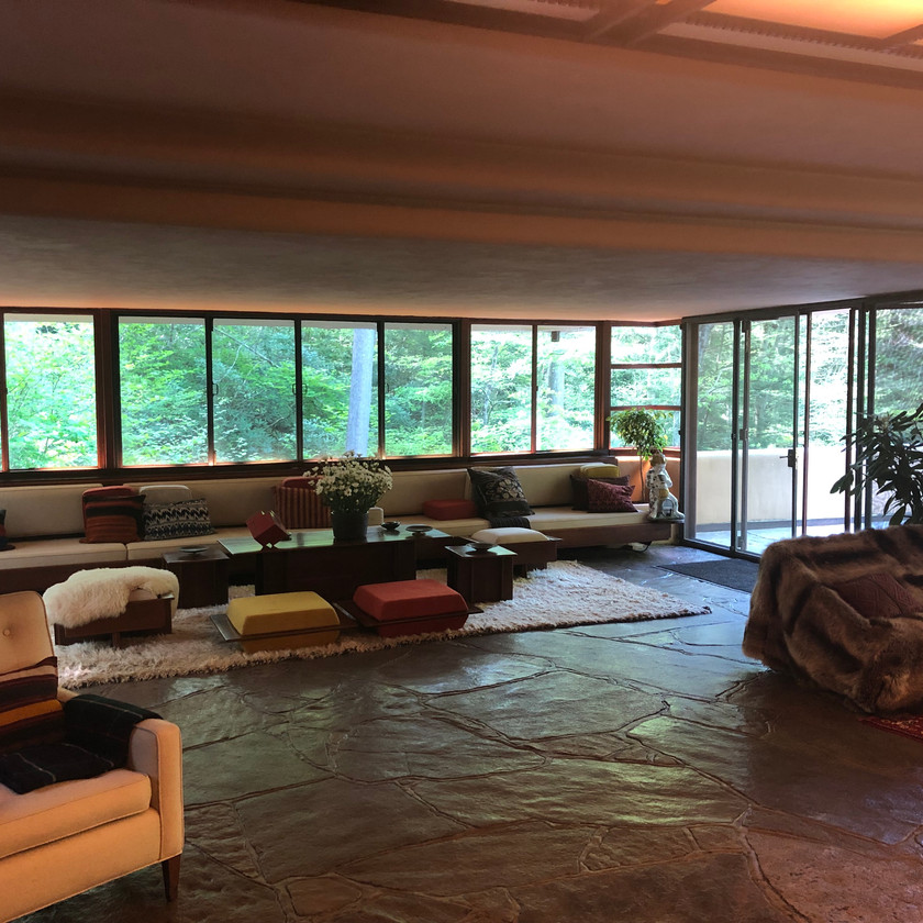 Living Space at Falling Water
