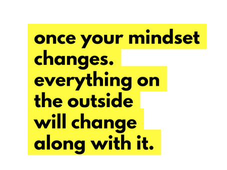 Why is mindset so important?