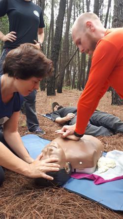 Primeiros Socorros Outdoor