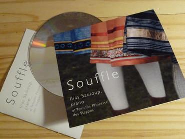 """Sortie du disque """"Souffle"""""""