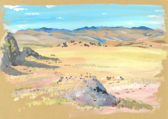 Avril, Mongolie