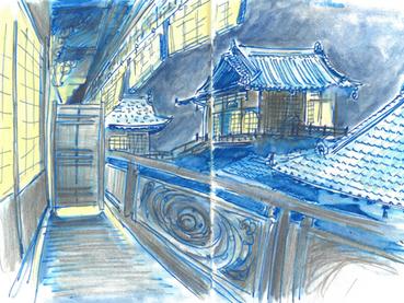 Escales coréennes et japonaises