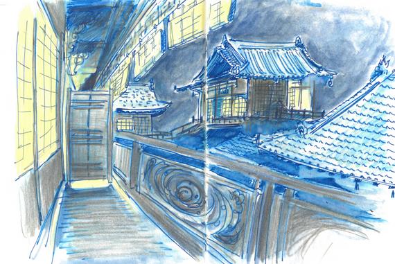 En juin à Matsuyama, Dogo onsen, Japon