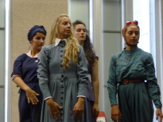Manon Huet, Cosetta Graffione, Agatha Davy et Sathia Paspuel