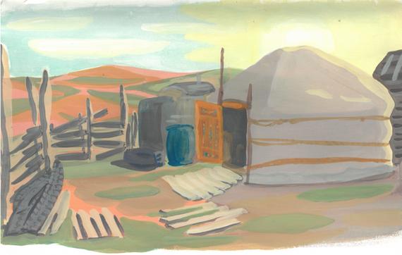 Mongolie en avril