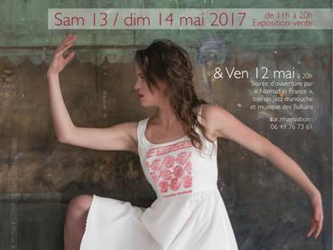 """Expo-vente et concert du trio """"Nomad in France"""" à l'atelier !"""