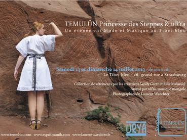 "Mode et musique au ""Tibet bleu"", Strasbourg"