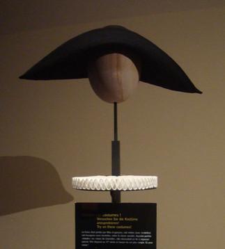 """Reconstitution du chapeau de """"la belle strasbourgeoise"""""""