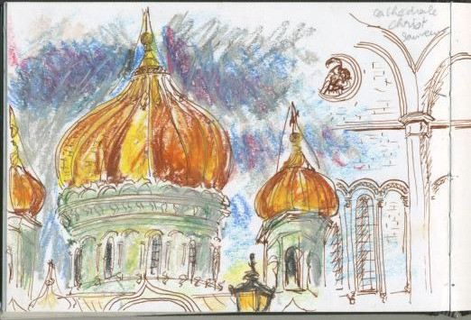 Septembre, Moscou, Russie