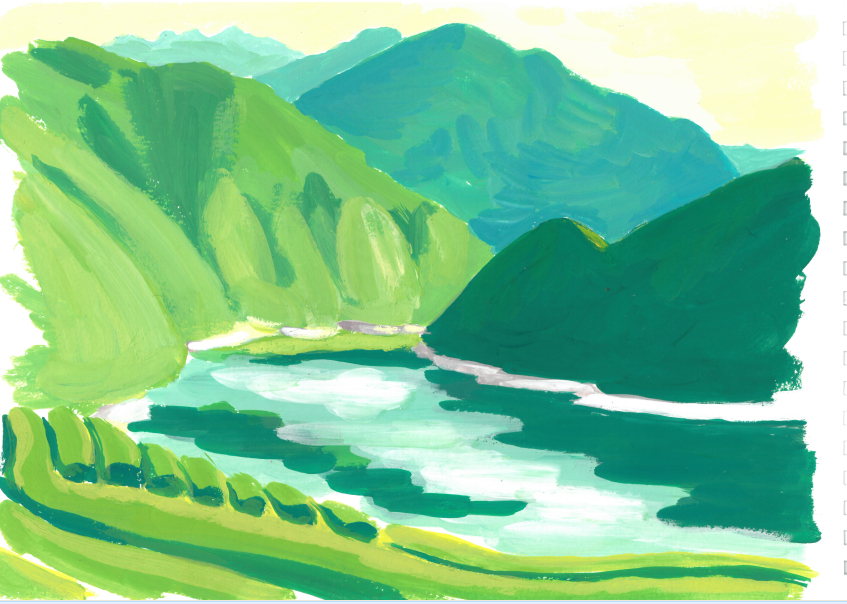 Vallée de Niyodo Japon