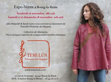 Lancement de la marque Temulün Princesse des Steppes
