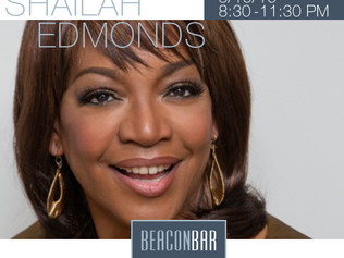 Shailah Edmonds Trio at the Beacon Bar, March 19th, 2016