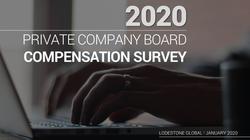 2020 Board Compensation Survey