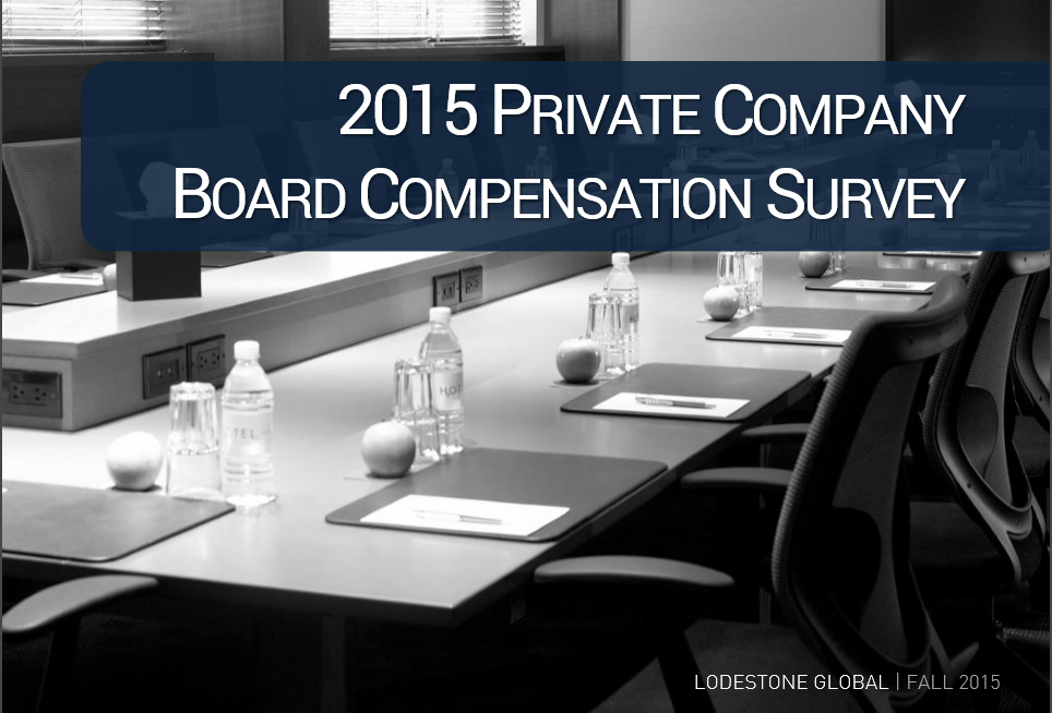 Board Compensation Survey 2015