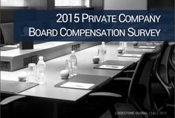 Board Compensation Survey 2015