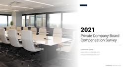 2021 Board Compensation Survey