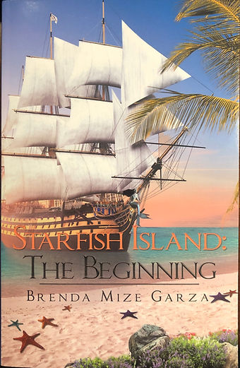 Starfish Island: The Beginning Front Cover