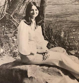 Brenda Mize Garza Author of The Beach House Series as Young girl