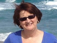 The Beach House Author Brenda Mize Garza on the beach