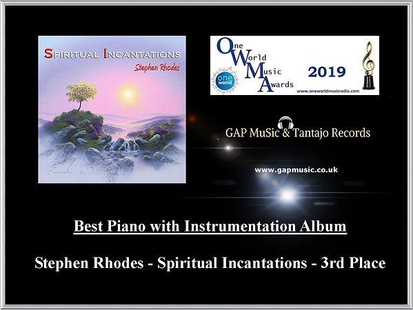 Spiritual Incantations - One World Music