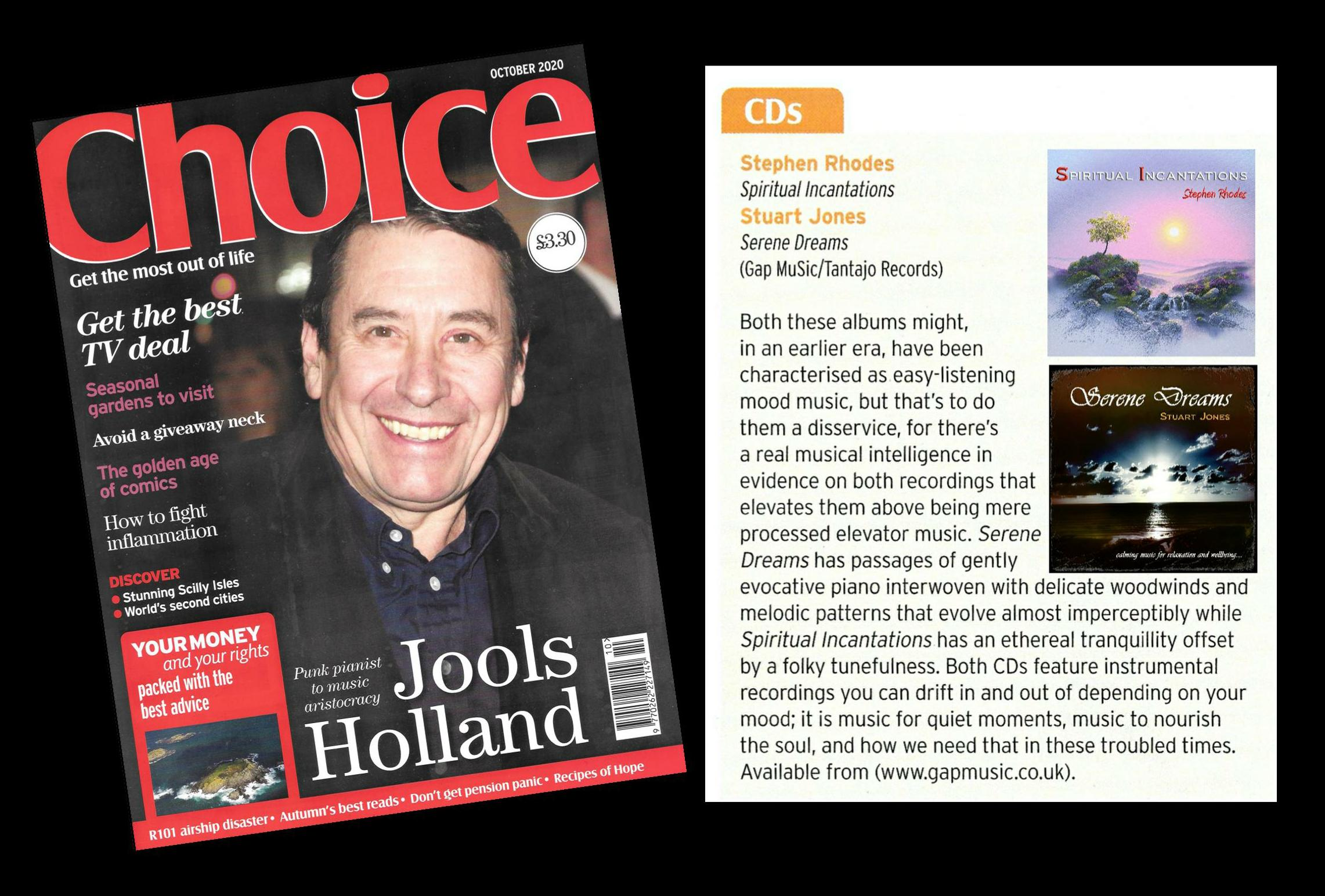 Reviews - Choice Magazine