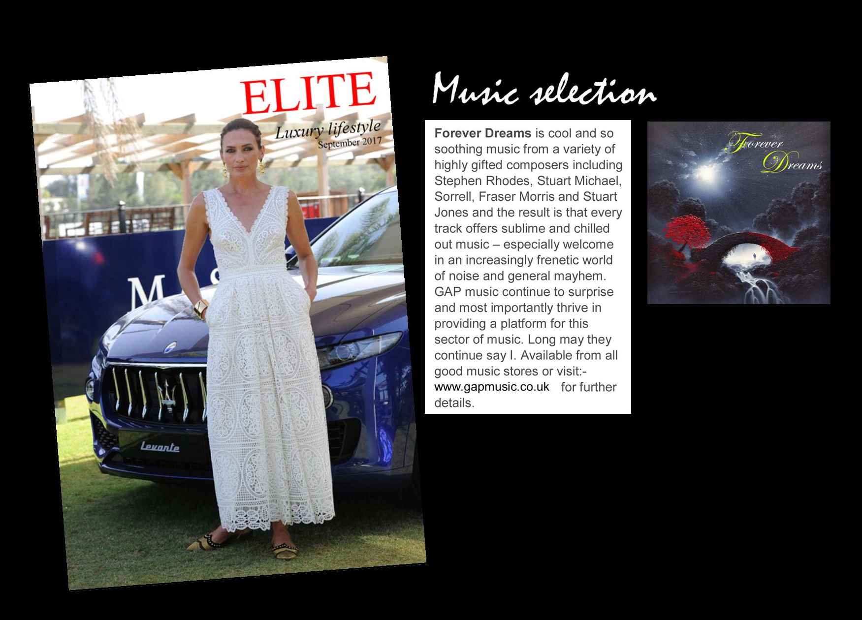 Elite Magazine - Forever Dreams...