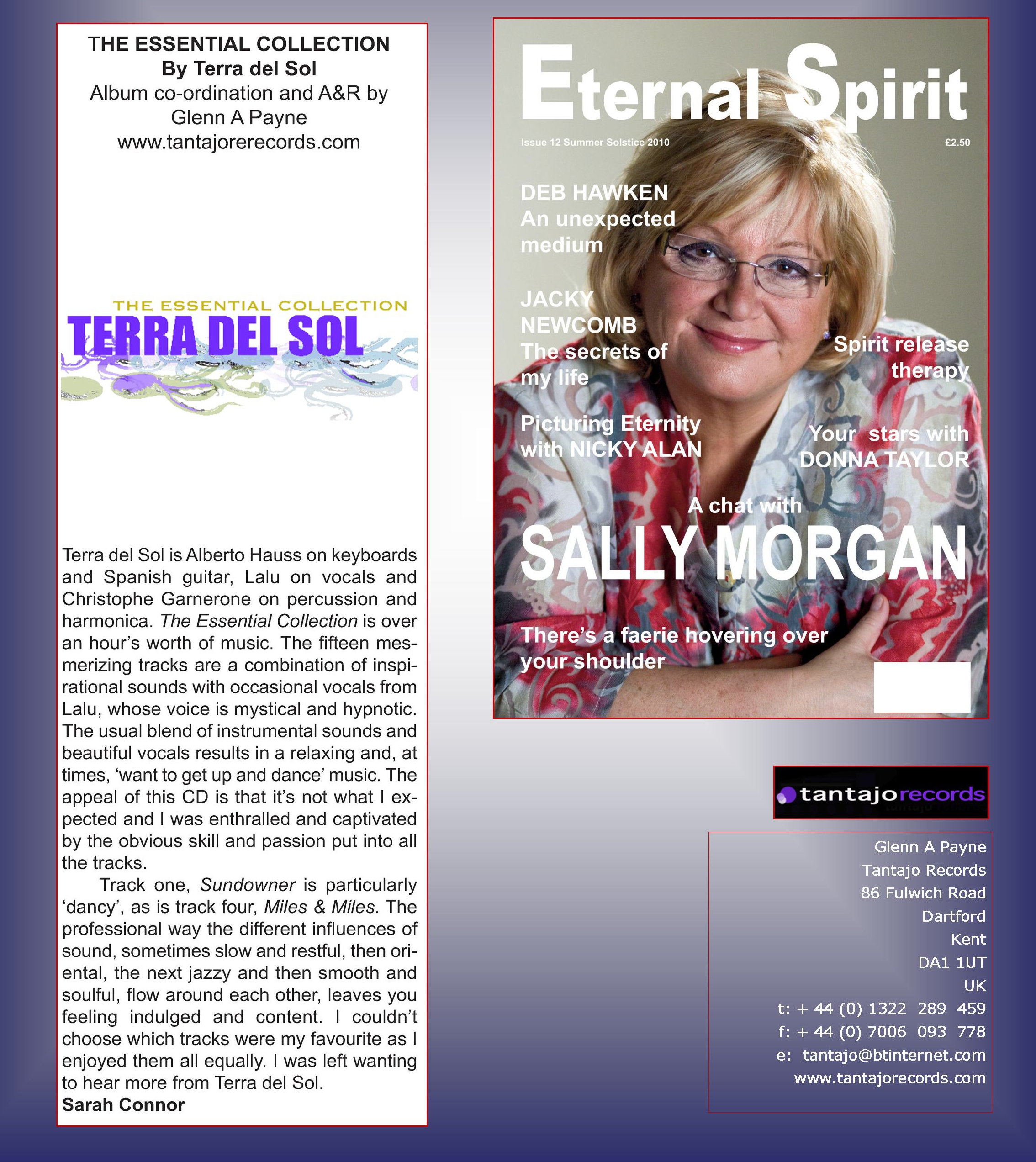 Terra del Sol - Eternal Spirit Magazine Magazine......