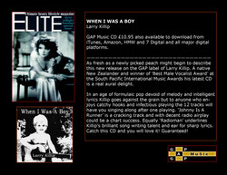 When I Was A Boy - Elite Magazine