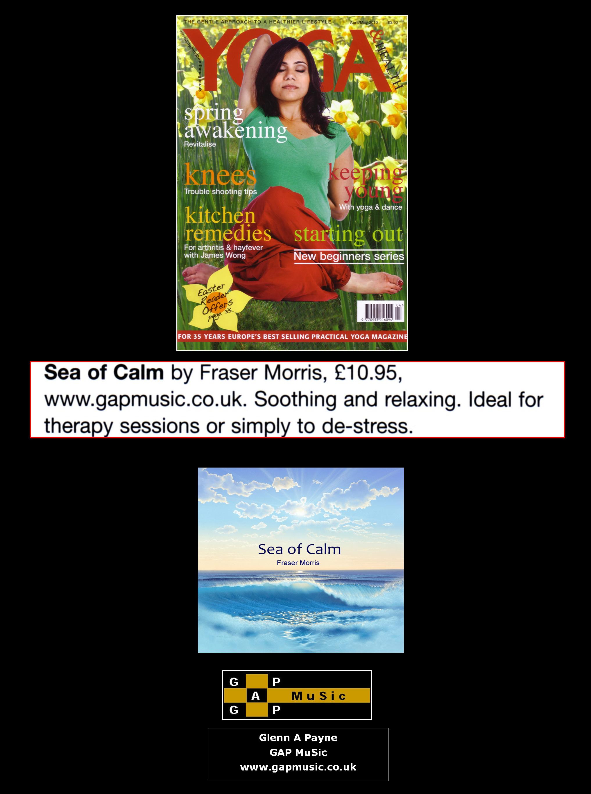 Sea of Calm - Yoga & Health Magazine