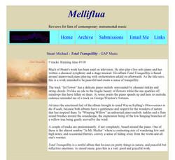 Total Tranquillity - Melliflu