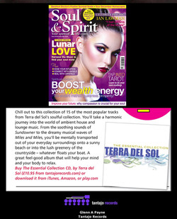Terra del Sol - The Essential Collection - Soul & Spirit Magazine