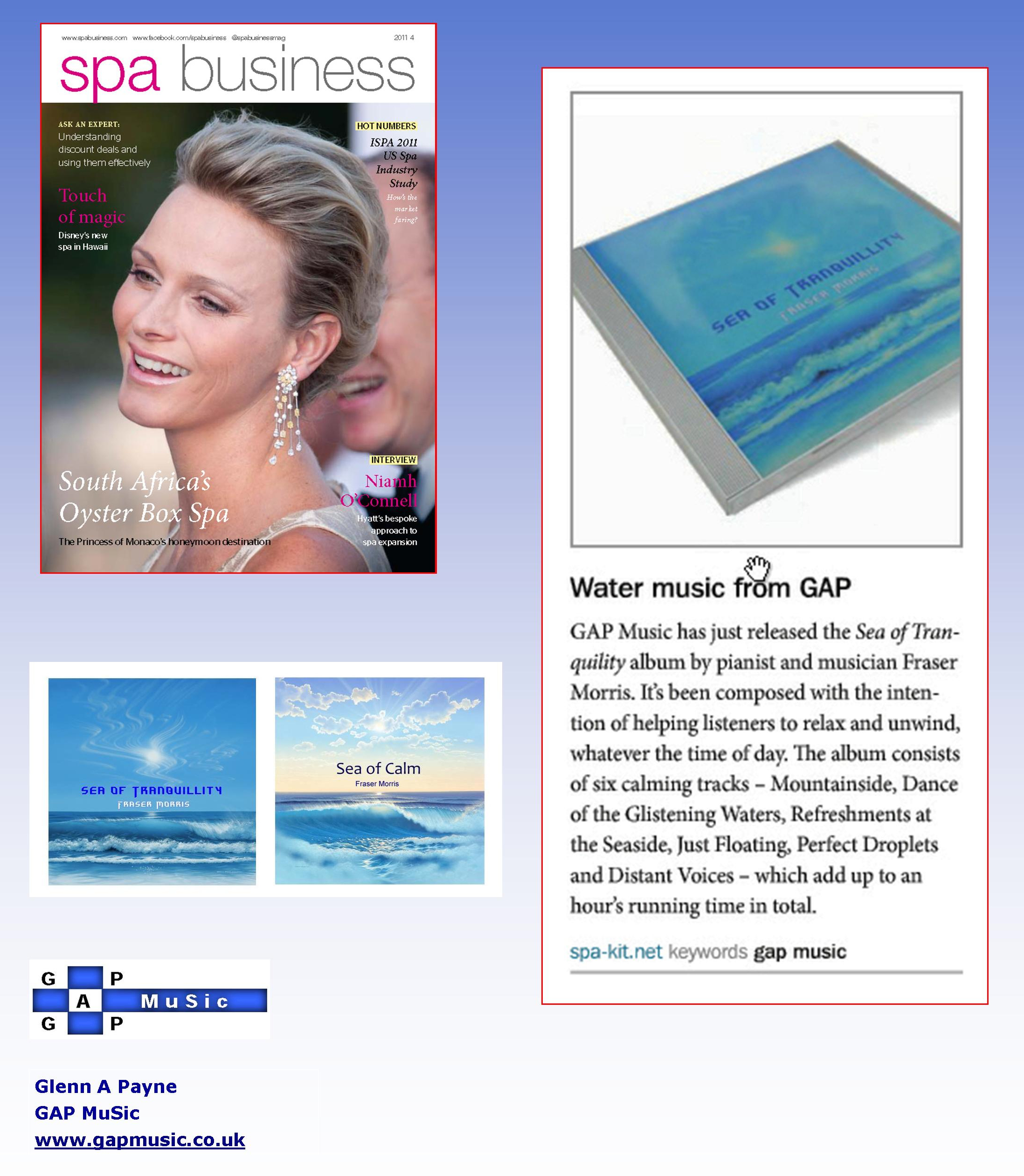 Sea of Tranquillity - Spa Business