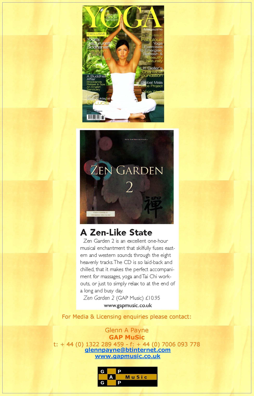 Zen Garden 2 - Yoga Magazine