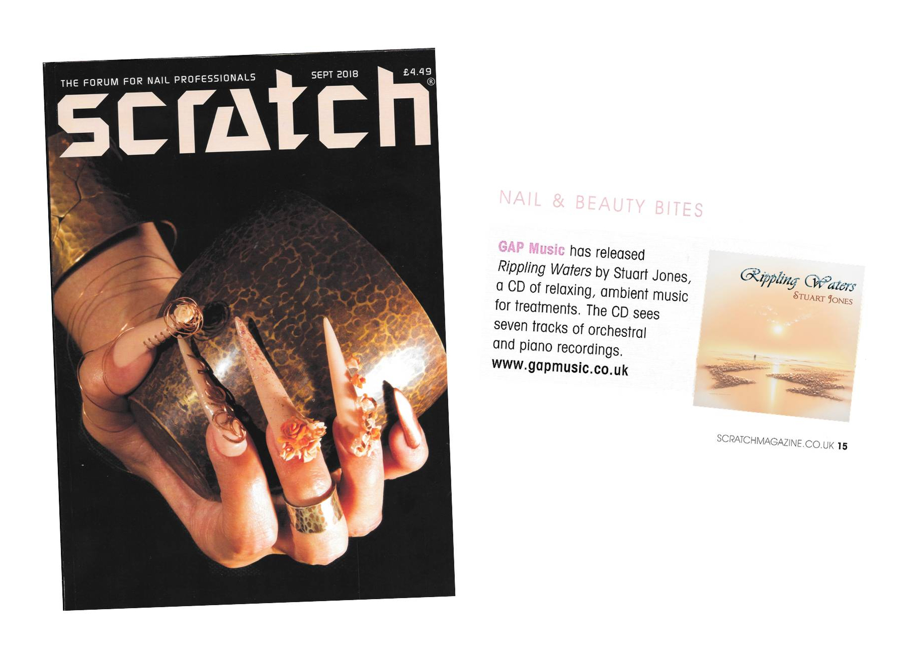 Scratch Magazine - Rippling Waters