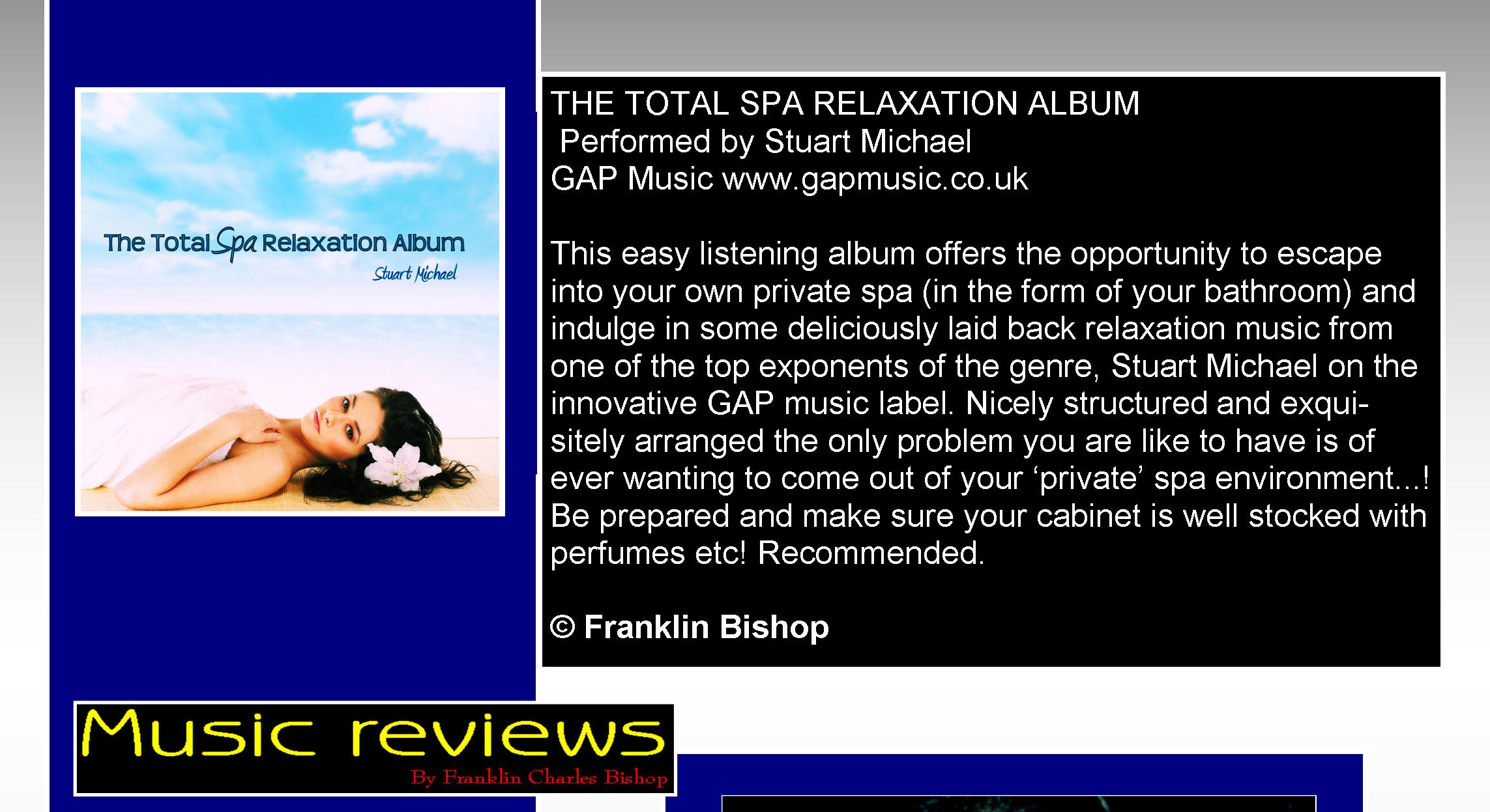 The Total Spa Relaxation Album - Elite Magazine