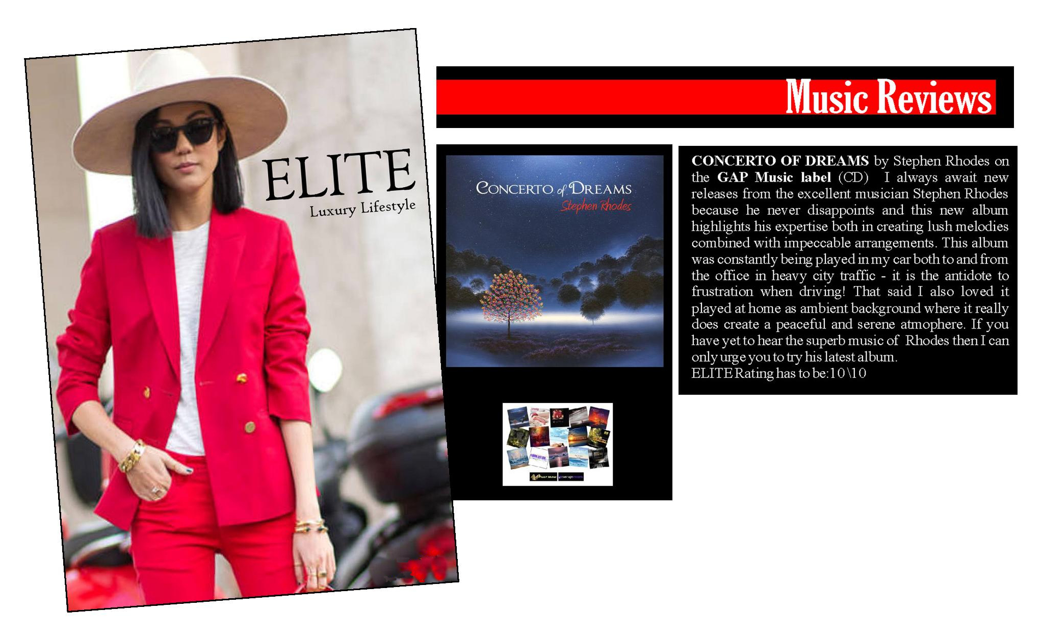 Concerto of Dreams - Elite Lifestyle Magazine